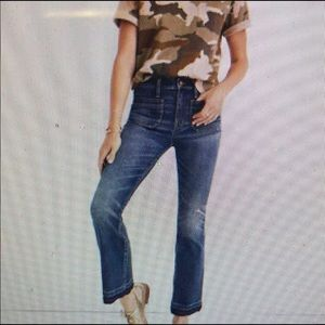Madewell Cali Demi- Boot Cropped Jeans
